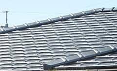 平板瓦 葺き直し工事(切妻屋根)