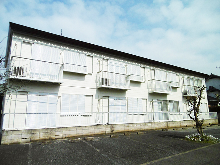 上尾市 K様8世帯アパート 屋根・外壁塗装事例