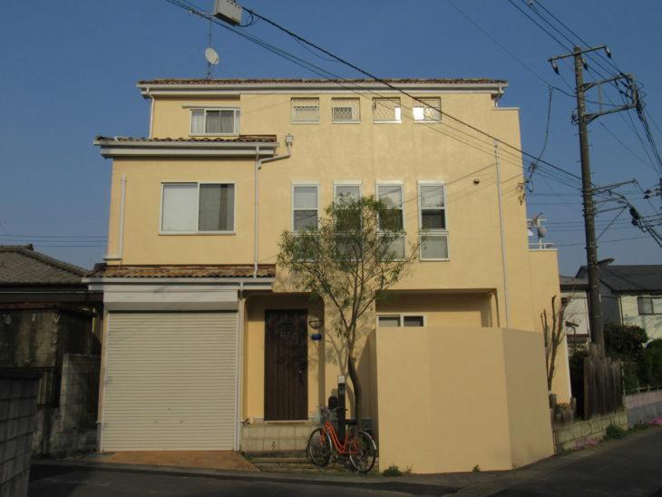 上尾市 F様邸 外壁塗装事例