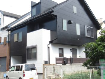 埼玉県草加市 N様邸外装リフォーム工事