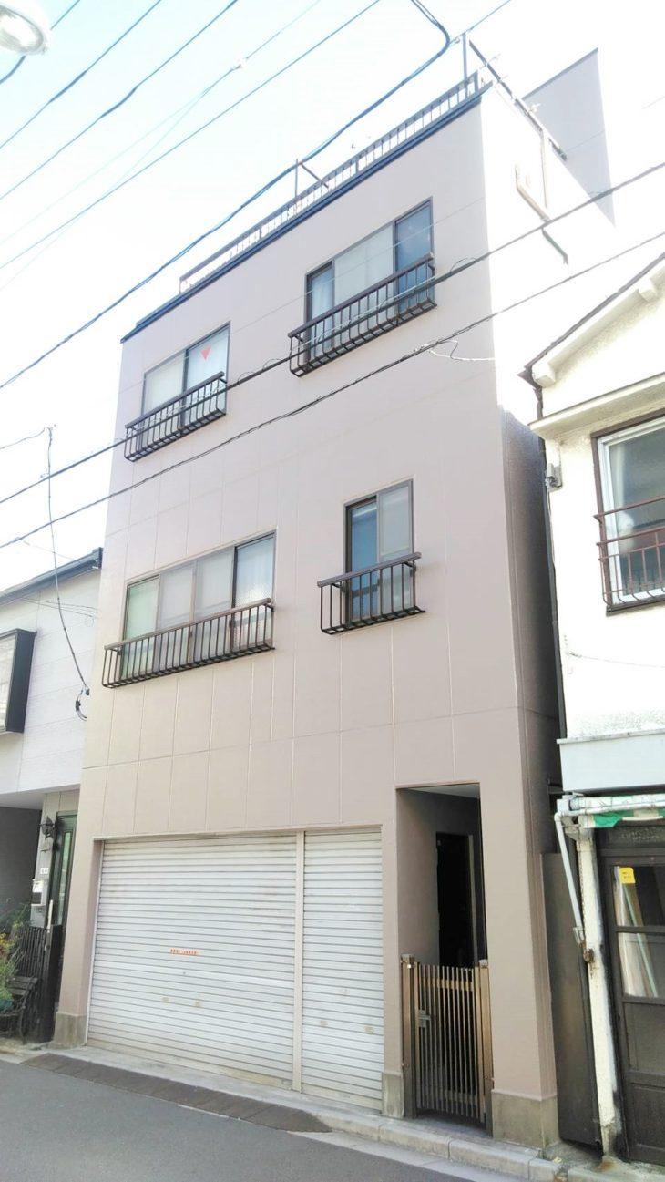 東京都台東区 M様邸外装リフォーム工事