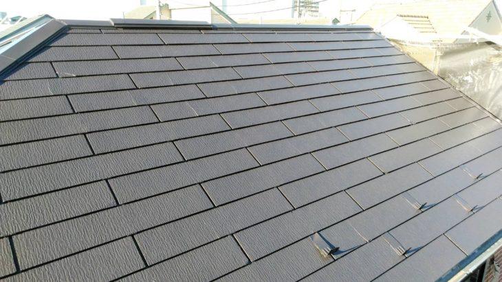 草加市 H様邸屋根塗装工事