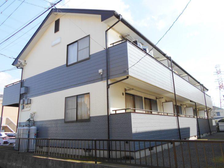 上尾市 アパートS-B棟様外装リフォーム工事