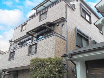鴻巣市 H様邸外装リフォーム工事