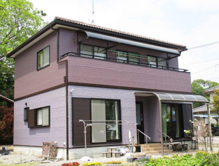 栃木県栃木市 N様邸外装リフォーム工事