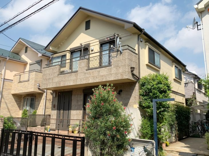 東京都杉並区 S様邸外装リフォーム工事