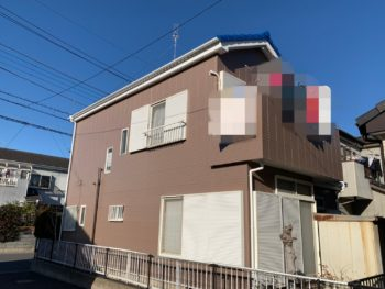 埼玉県越谷市 T様邸外装リフォーム工事