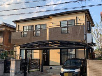 栃木県小山市 T様邸外装リフォーム工事