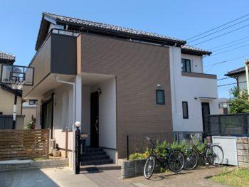 埼玉県北本市 M様邸外装リフォーム工事