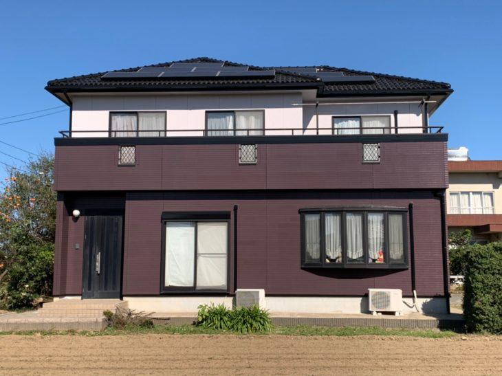 埼玉県加須市 A様邸外装リフォーム工事