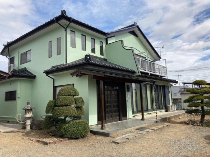 栃木県栃木市 I様邸外装リフォーム工事