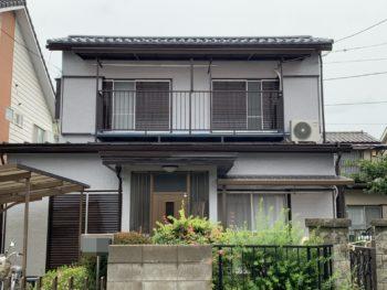 埼玉県上尾市にて S様邸外装リフォーム工事